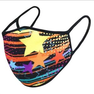 Accessories - Any 2 for $25, 3 Ply USA Made Stars Facemask